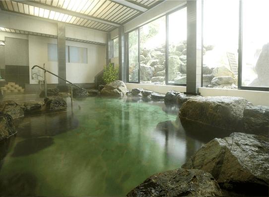 天然岩風呂